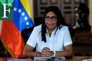 Delcy Rodríguez rompió su silencio;  Reunión Rodríguez-Ábalos