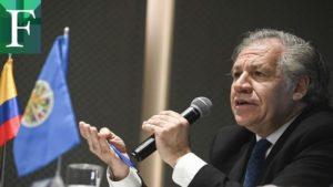 Almagro pide ayuda humanitaria para asistir a siete millones de venezolanos