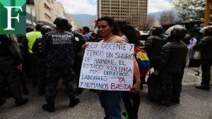Docentes convocan protesta nacional para el 16 de enero