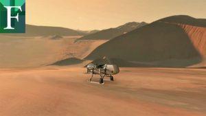 El helicóptero «libélula» con el que la Nasa buscará vida en otros planetas