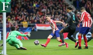 Atlético de Madrid venció al Liverpool en la UCL