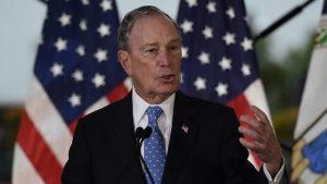 Bloomberg crece y se mide con rivales demócratas en su primer debate por TV