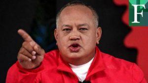Cabello: Jamás vamos a negociar