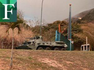 Cerraron la Gran Mariscal de Ayacucho por ejercicios militares del régimen