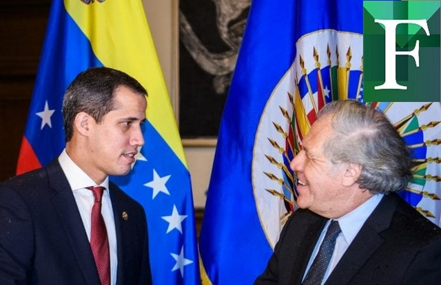 Guaidó se reunió con Luis Almagro en Washington