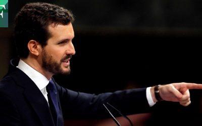 Casado pidió a Sánchez dejarse de «mentiras» sobre Delcy