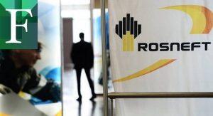 Se desplomaron las acciones de Rosneft tras las sanciones de EE UU