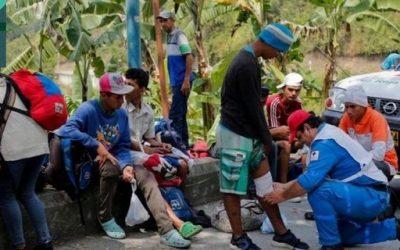 Bebé venezolano murió en brazos de su madre cruzando páramo colombiano