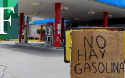 Escasez de gasolina no obedece al coronavirus