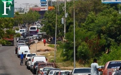 Escasez de gasolina llega a la capital: pocas estaciones de servicio abiertas