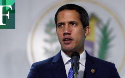 """Guaidó: """"Estamos buscando apoyo para nuestra gente"""