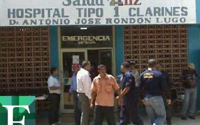 Asaltaron hospital de Clarines mientras comandante de la GNB estaba en Anzoátegui