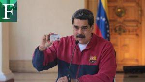 Maduro, reo de la economía en  pandemia