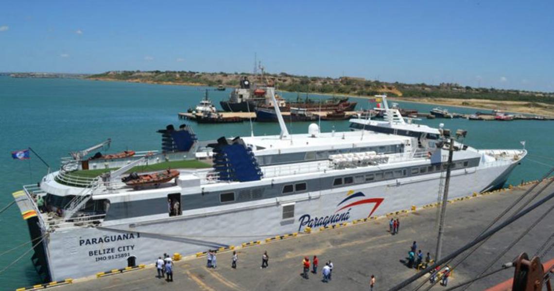 Ferry Paraguaná I listo para prueba de mar