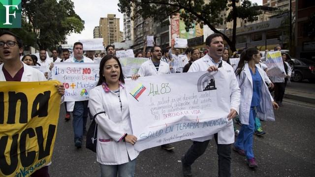 Sector salud saldrá a las calles este #12Marzo Alerta sanitaria en Venezuela