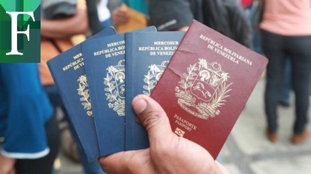 Saime estudia extender a 10 años la vigencia de los pasaportes venezolanos