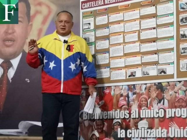 Diosdado reveló su excusa para secuestrar a Renzo Prieto y diputados