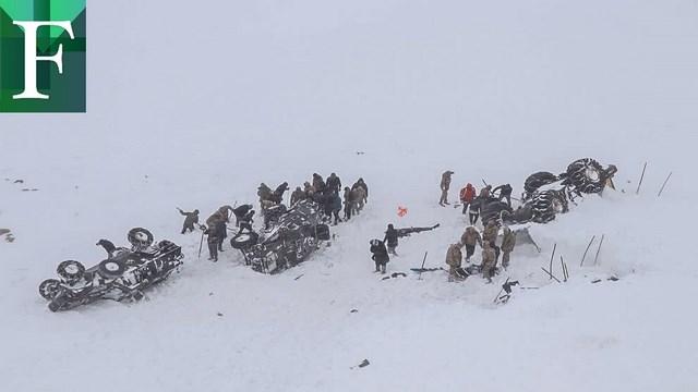 21 personas murieron en una avalancha de nieve en Turquía