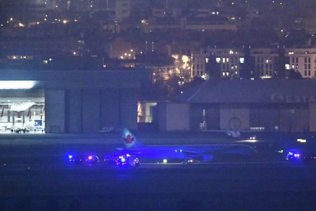 Avión de Air Canadá logra aterrizar de emergencia en Madrid tras fallas técnicas