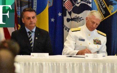 Brasil y EE.UU fortalecieron alianza militar