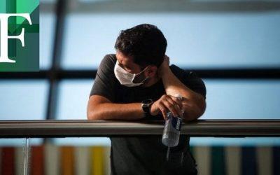 Joven de 18 años ingresado con síntomas de covid-19 en Lechería
