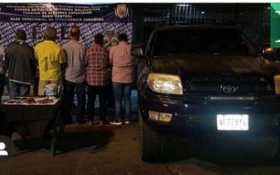 FAES detuvo a seis personas por tenencia de uranio en Carabobo