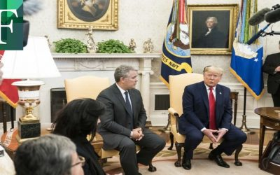 Duque denuncia en EE. UU. apoyo de Maduro a Hezbolá