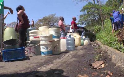 El país enfrenta al coronavirus en medio de crisis de agua
