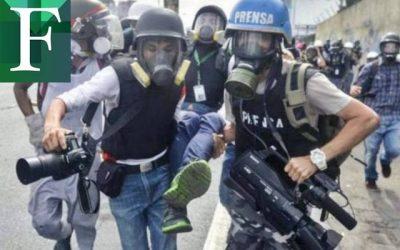 CNP:  39 agresiones contra periodistas en Caracas entre enero y febrero