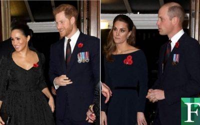 Príncipes ingleses se reencontraron luego de cuatro meses