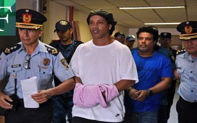 Abogados de Ronaldinho tildan de «ilegal» prisión y pedirán su anulación