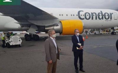 Avión de ayuda humanitaria de la ONU llegó a Venezuela