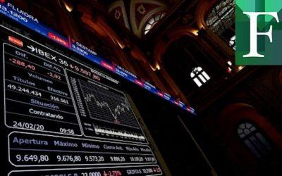 Las bolsas europeas bajan alrededor de 3% tras la apertura