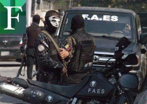 FAES fue responsable de 232 ejecuciones en 2019 solo en Caracas