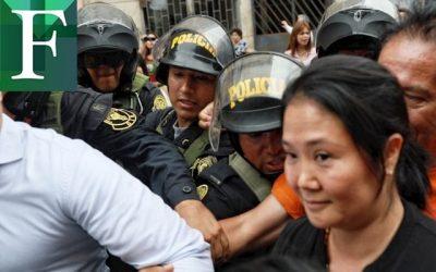 Excarcelación de Keiko Fujimori en medio de epidemia de covid-19