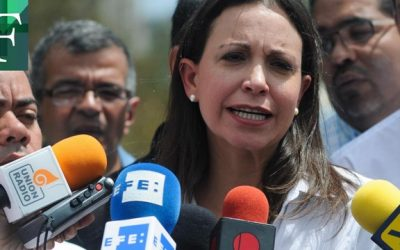Machado: Urge una operación de fuerza en Venezuela