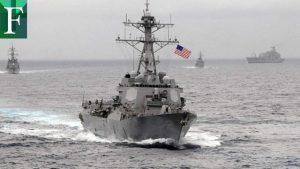 Armada norteamericana con  «medidas defensivas» contra buques iraníes