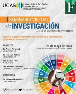 UCAB Guayana realizará I Seminario Virtual de Investigación