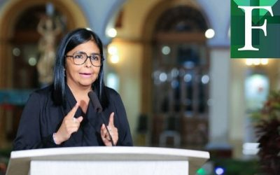 Delcy Rodríguez confirmó siete nuevos casos de covid-19