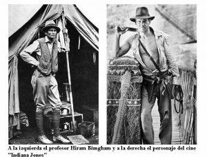 Indiana Jones tras los pasos de Simón Bolívar;   Luis H Medina Canelón