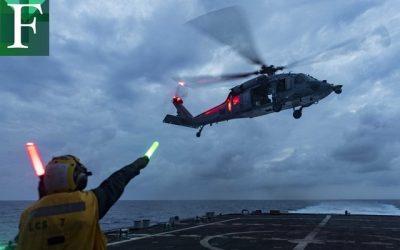EE. UU. despliega otro buque antinarcóticos cerca de costas venezolanas