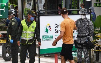 Gobierno de Colombia retoma actividades y renovará documentos a venezolanos