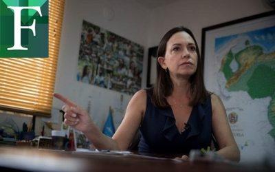 Machado: Mientras las mafias controlen las armas no habrá elecciones libres en Venezuela