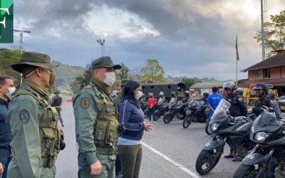 Régimen inició despliegue policial y militar para la nueva fase de la cuarentena