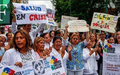 77.000 trabajadores de la salud a la espera de los 100 dólares prometidos por Guaidó