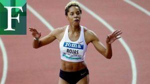 La marca mundial de Yulimar Rojas fue ratificada por World Athletics