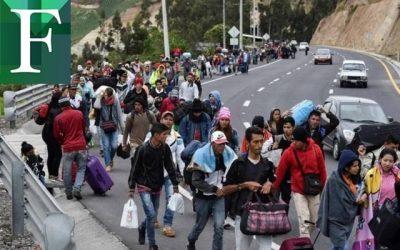 Venezuela sufre una de las peores crisis de desplazados del mundo