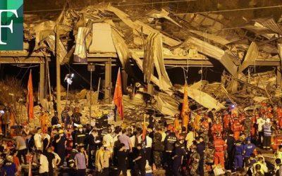 19 muertos y 166 heridos en China tras explosión de camión con gas licuado