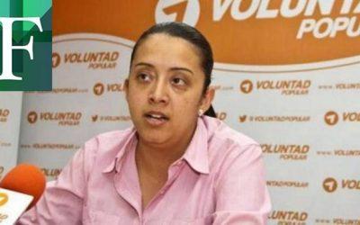 Gaby Arellano renunció a Voluntad Popular