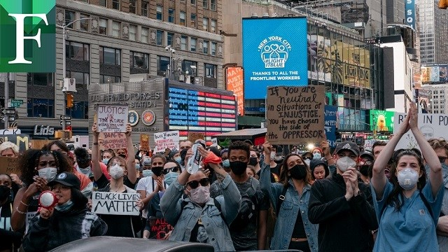"""Trump: protestas y actos violentos en EEUU han sido organizados por """"anarquistas profesionales"""""""
